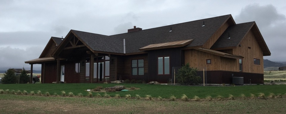 Custom Built Home in Ennis, MT