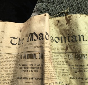 Editions of The Madisonian, the Local Paper Found Inside