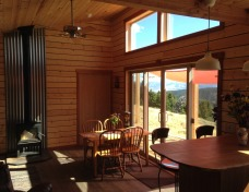 Cabin Windows with Natural Sunlight