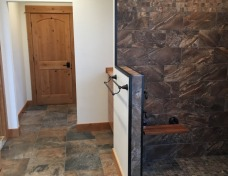 Master Bathroom Shower with Seat