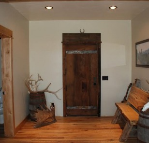 Reclaimed Timber Door